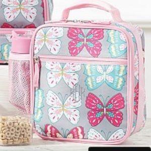 PBK Mackenzie Gray Butterfly Lunch box